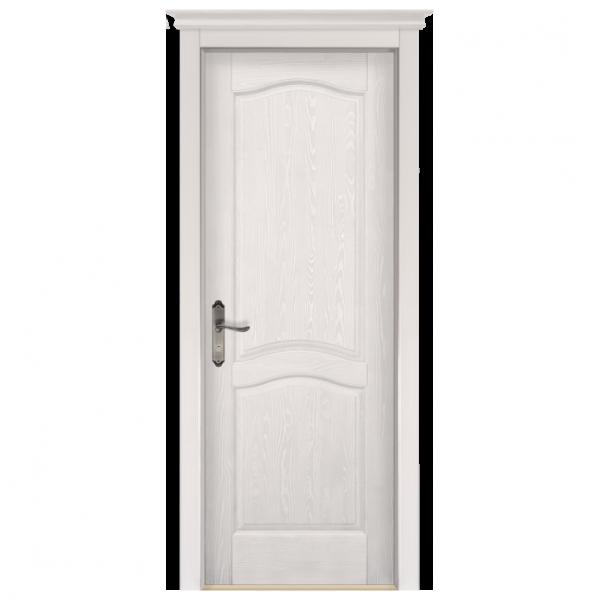 Межкомнатная дверь Массив сосны Лео. Слоновая кость