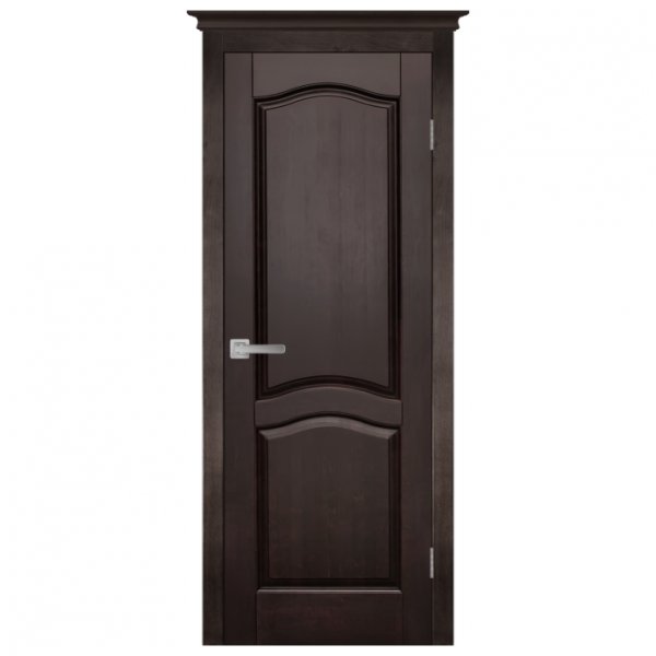 Межкомнатная дверь Массив ольхи Лео 3. Венге