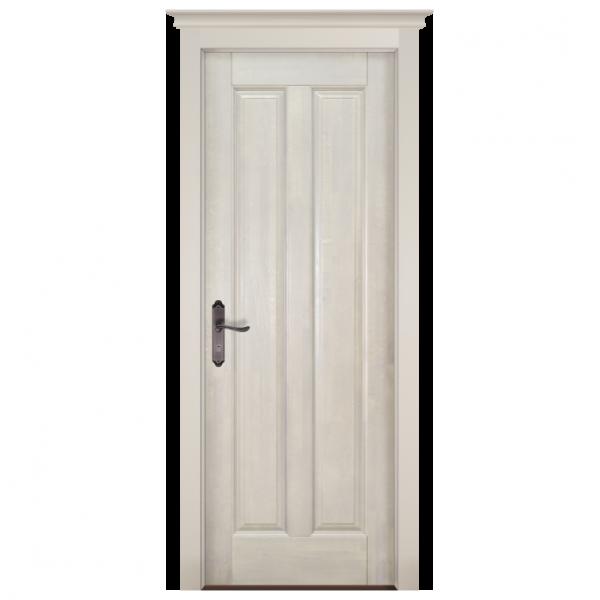 Межкомнатная дверь Массив ольхи Соренто 2. Белый (эмаль)
