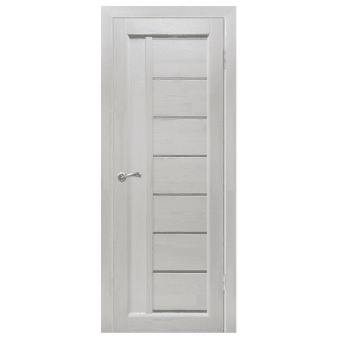 Межкомнатная дверь Массив сосны Вега 8 ЧО. Белый