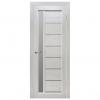Межкомнатная дверь Массив сосны Вега 9 ЧО. Белый