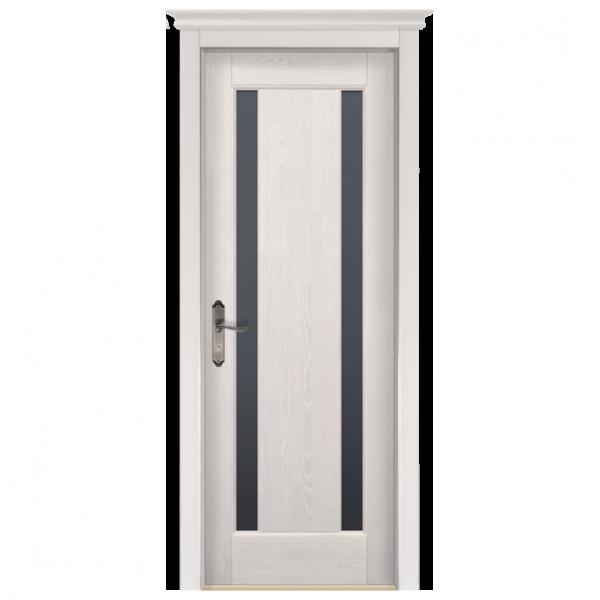 Межкомнатная дверь Массив сосны Милан. Слоновая кость