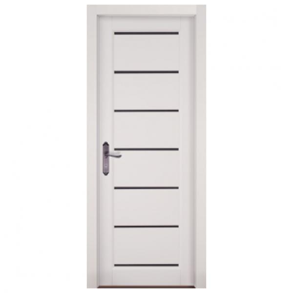 Межкомнатная дверь Массив ольхи Премьер Плюс. Белый (эмаль)