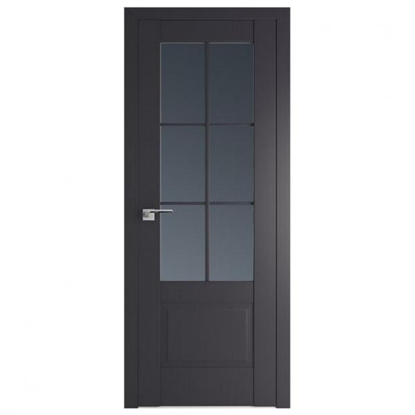 Межкомнатная дверь ProfilDoors 103u Классика. Антрацит