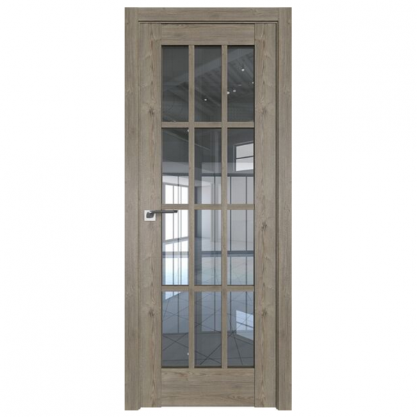 Межкомнатная дверь ProfilDoors 102xn Классика. Каштан темный