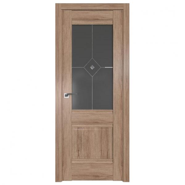 Межкомнатная дверь ProfilDoors 2xn Классика. Дуб Салинас Светлый