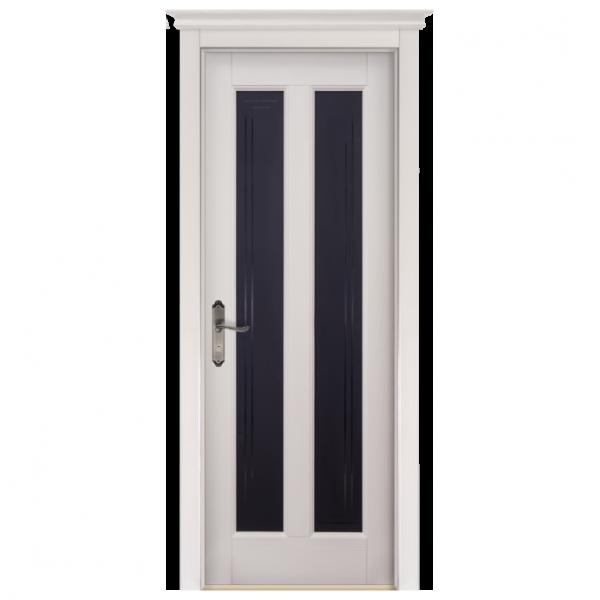 Межкомнатная дверь Массив сосны Сорренто. Слоновая кость