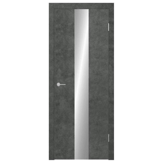 Межкомнатная дверь Экошпон Stark ST13 ДО. Бетон темный