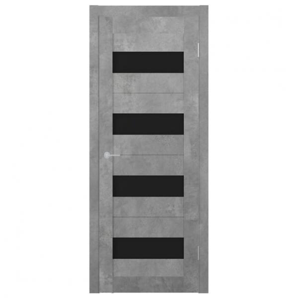 Межкомнатная дверь Экошпон Stark ST2 ДО. Бетон светлый