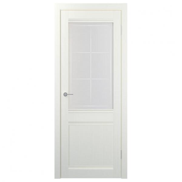 Межкомнатная дверь Экошпон Stark ST22 ДО. Айс