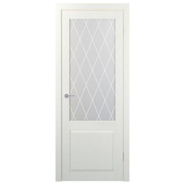 Межкомнатная дверь Экошпон Stark ST24 ДО. Айс