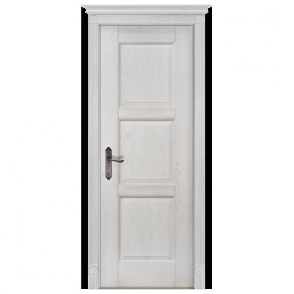 Межкомнатная дверь Массив дуба Турин 2. Вайт