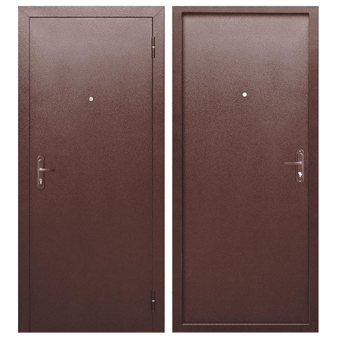 Дверь входная Гарда Стройгост 5 мет-мет. Антик