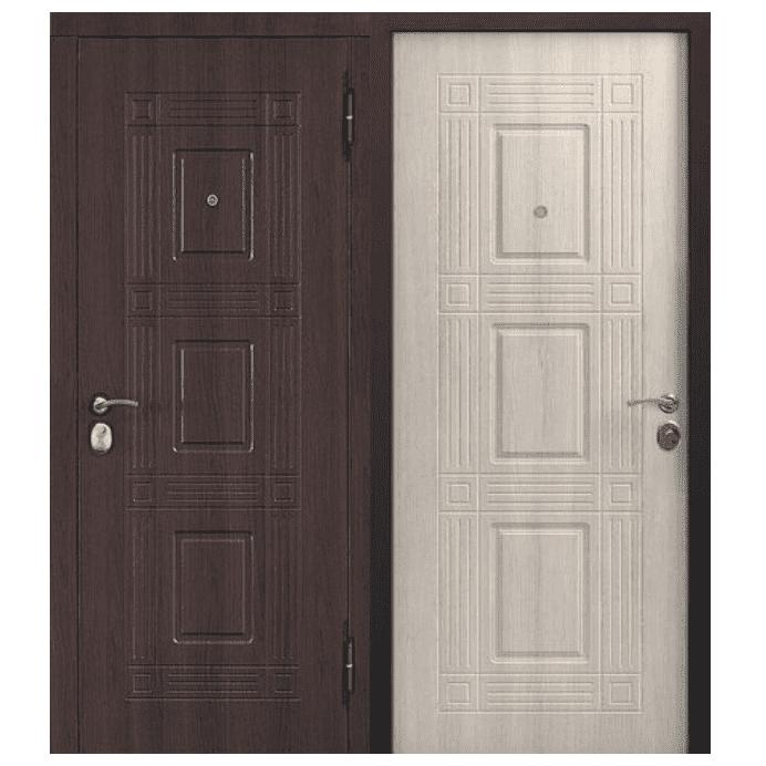 Дверь входная Гарда Виктория. Лиственница мокко