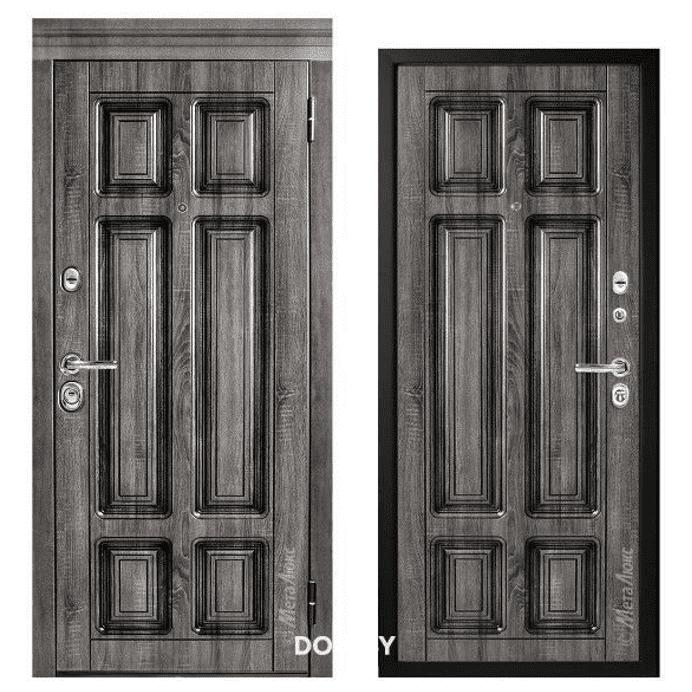 Дверь входная Металюкс Статус М706