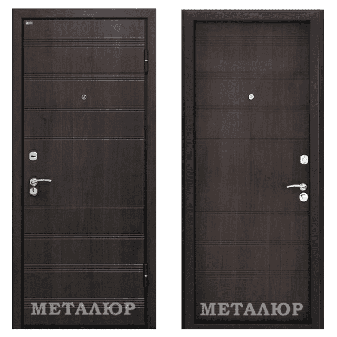 Дверь входная МеталЮр М1. Венге