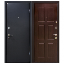 Дверь входная МеталЮр М21. Венге