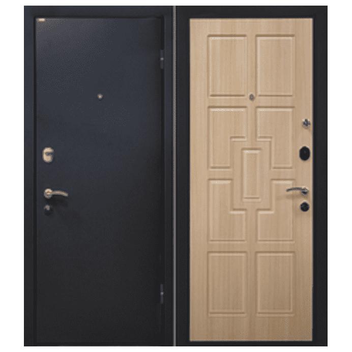 Дверь входная МеталЮр М23. Беленый дуб