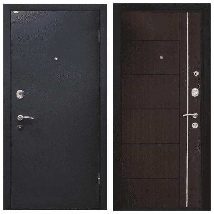 Дверь входная МеталЮр М25. Венге