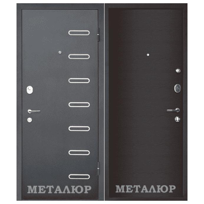 Дверь входная МеталЮр М29. Дуб французский темный