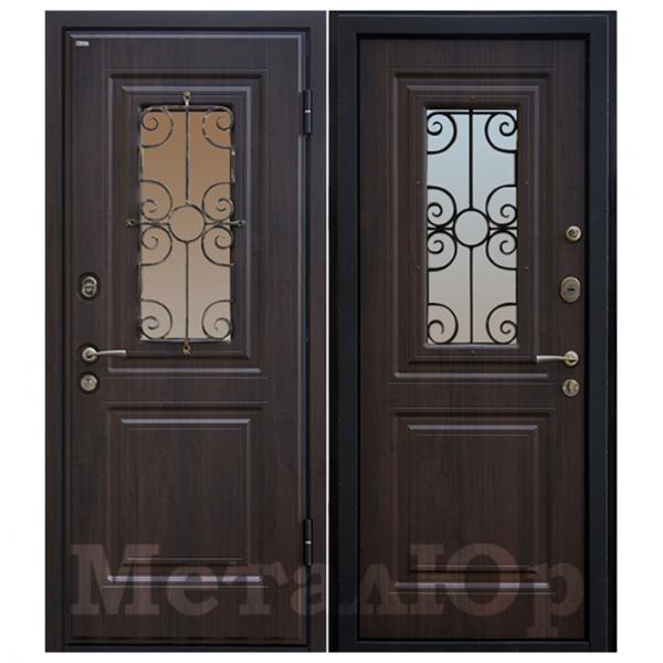 Дверь входная МеталЮр М32. Венге