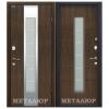 Дверь входная МеталЮр М34. Темный Орех