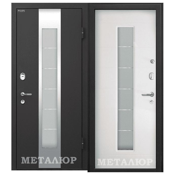 Дверь входная МеталЮр М35. Белый Малибу