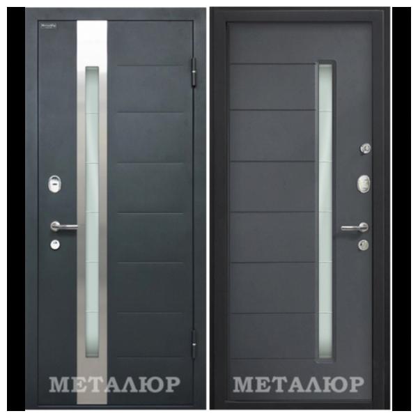Дверь входная МеталЮр М36. Антрацит