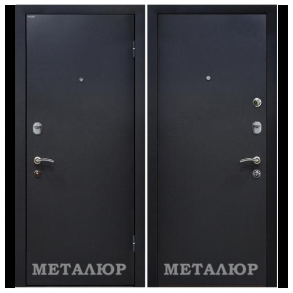 Дверь входная МеталЮр М40. Черный бархат