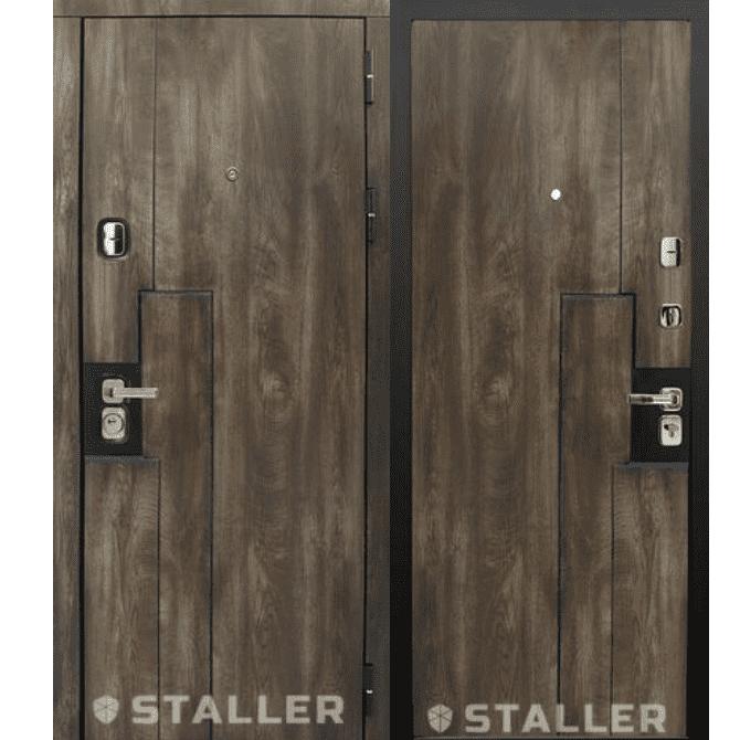 Дверь входная Сталлер. Модель Крона