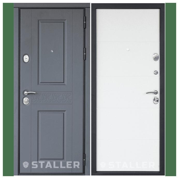 Дверь входная Сталлер. Модель Раффинато