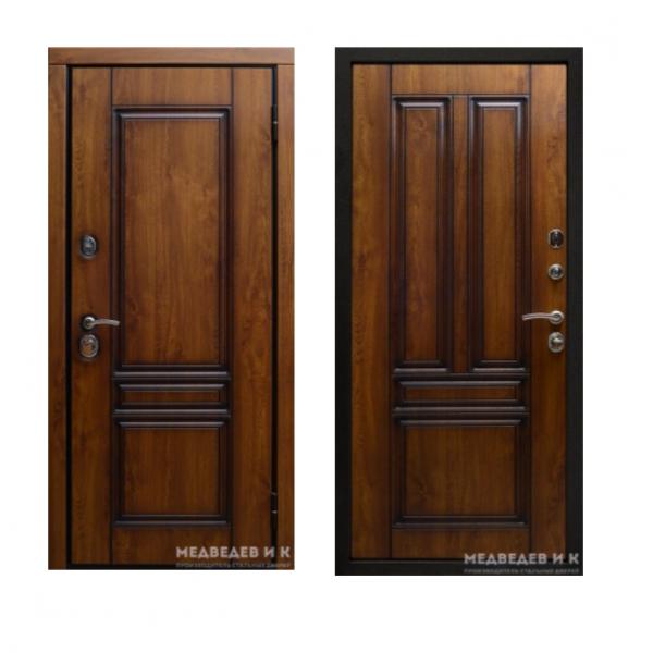 Дверь входная Медведев Акрополь