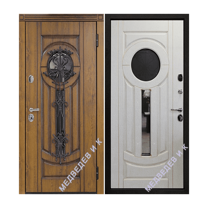 Дверь входная Медведев Ампир