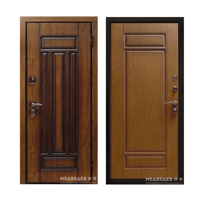 Дверь входная Медведев Боргезе
