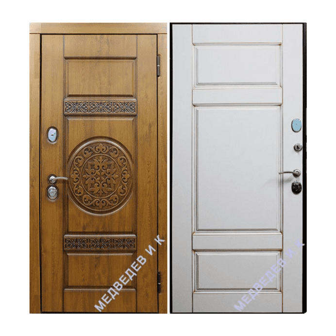 Дверь входная Медведев Деко