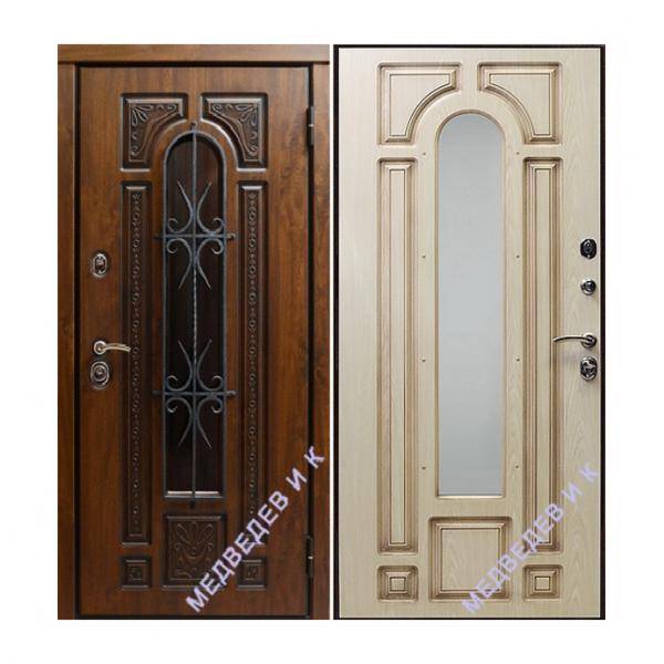 Дверь входная Медведев Лувр