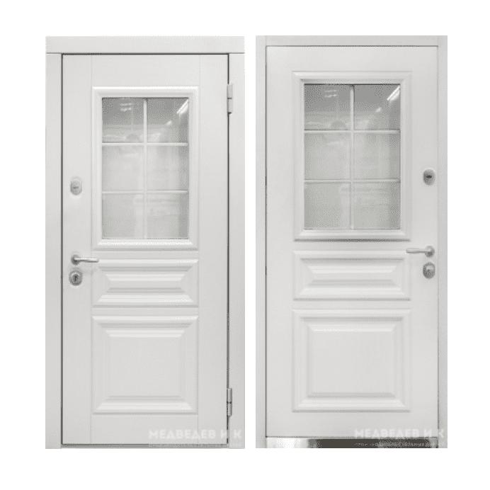 Дверь входная Медведев Вавилон плюс