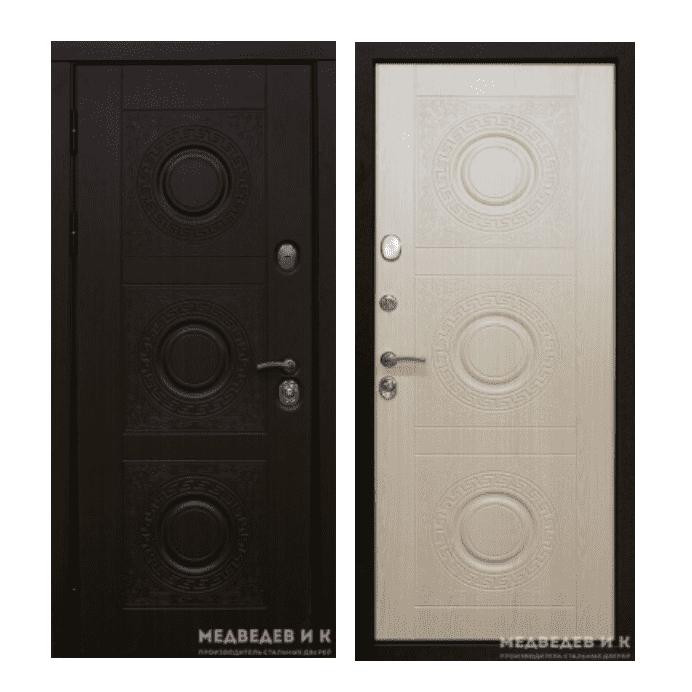 Дверь входная Медведев Зубр 4
