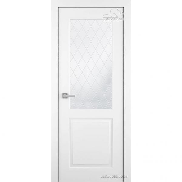 Дверь межкомнатная Эмалированная Belwooddoors Модель Alta. Эмаль белая