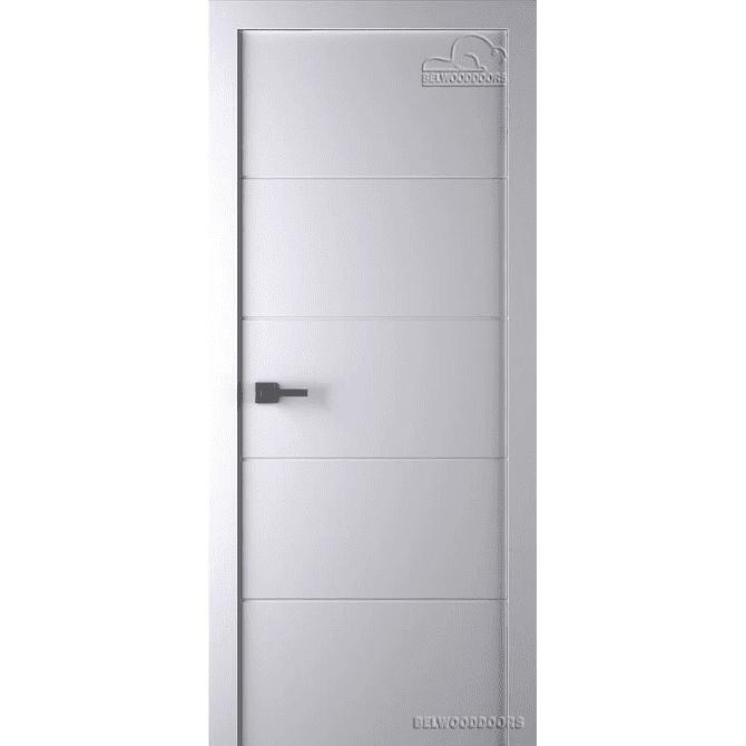 Дверь межкомнатная Эмалированная Belwooddoors Модель Arvika глухая. Эмаль белая