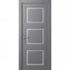 Дверь межкомнатная Эмалированная Belwooddoors Модель Аурум 3. Эмаль графит