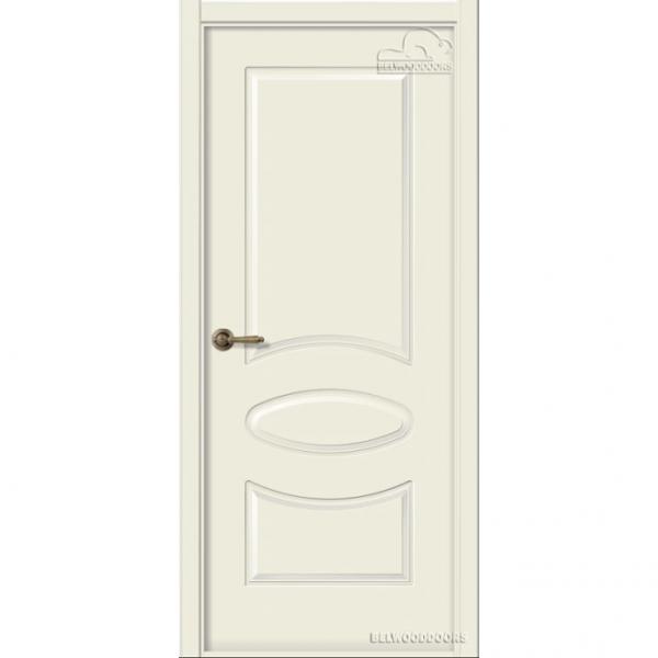 Дверь межкомнатная Эмалированная Belwooddoors Элина. Эмаль жемчуг