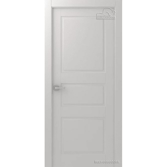 Дверь межкомнатная Эмалированная Belwooddoors Модель Инари глухая. Эмаль белая
