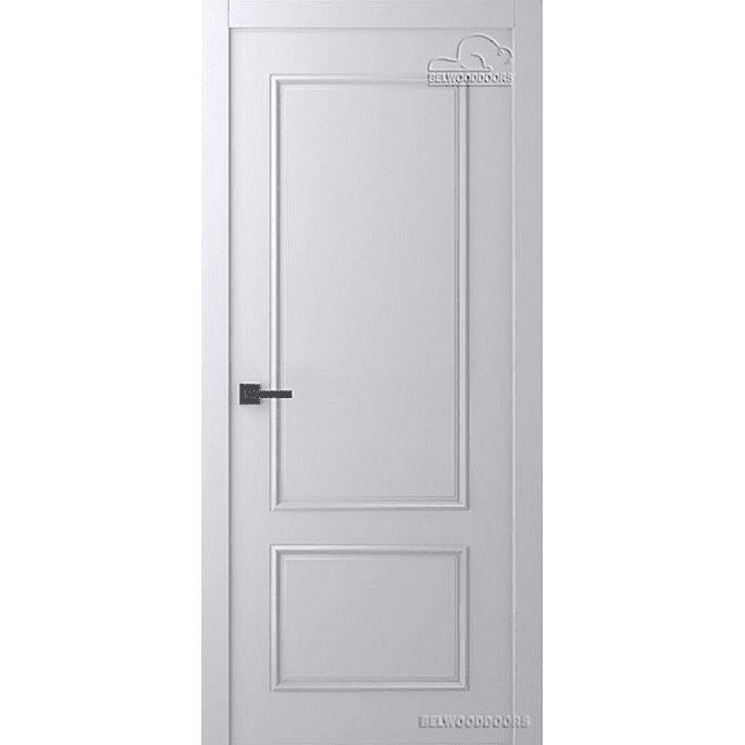 Дверь межкомнатная Эмалированная Belwooddoors Модель Ламира 2. Эмаль светло-серая