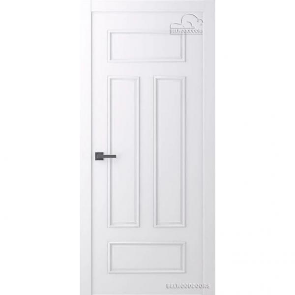Дверь межкомнатная Эмалированная Belwooddoors Модель Ламира 4/1. Эмаль белая