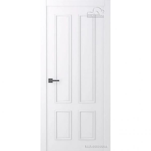 Дверь межкомнатная Эмалированная Belwooddoors Модель Ламира 4/2. Эмаль белая
