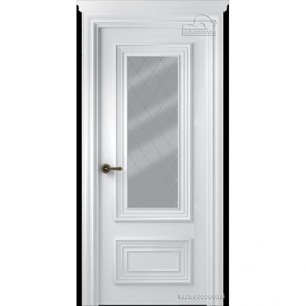 Дверь межкомнатная Эмалированная Belwooddoors Модель Палаццо 2. Эмаль белая