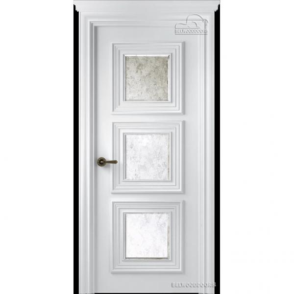 Дверь межкомнатная Эмалированная Belwooddoors Модель Палаццо 3. Эмаль белая