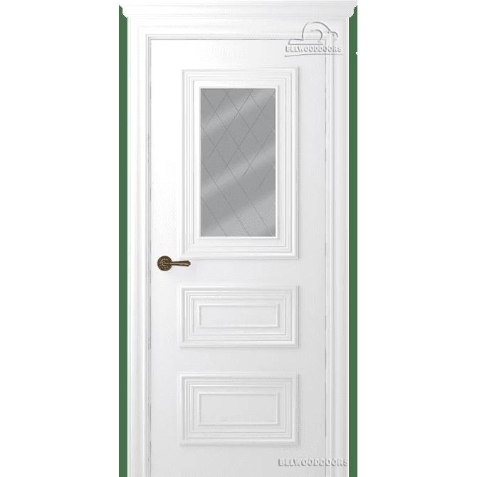Дверь межкомнатная Эмалированная Belwooddoors Модель Палаццо 3/1. Эмаль белая