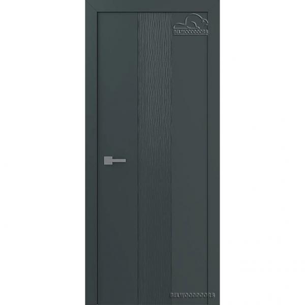 Дверь межкомнатная Эмалированная Belwooddoors Модель Римини. Эмаль графит